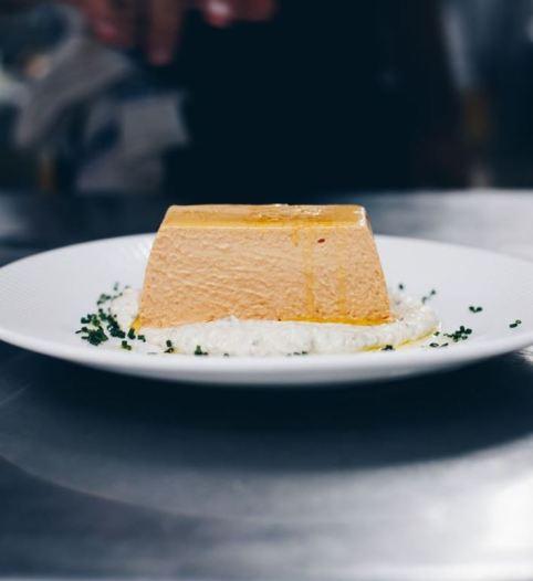 pastel cremoso